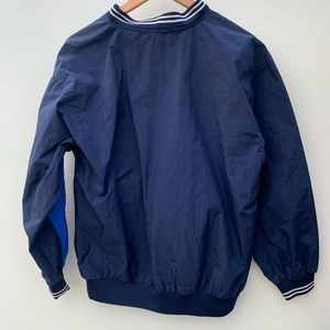 Nike Shirts - Vintage Nike Blue Pullover Windbreaker Long Sleeve